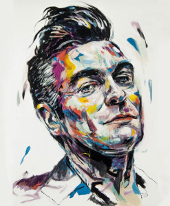 Morrissey - Acrylic on canvas - 50x70 cm
